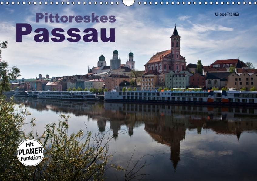 Pittoreskes Passau (Wandkalender 2017 DIN A3 quer) - Coverbild