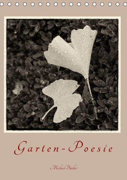 Garten-Poesie (Tischkalender 2017 DIN A5 hoch) - Coverbild
