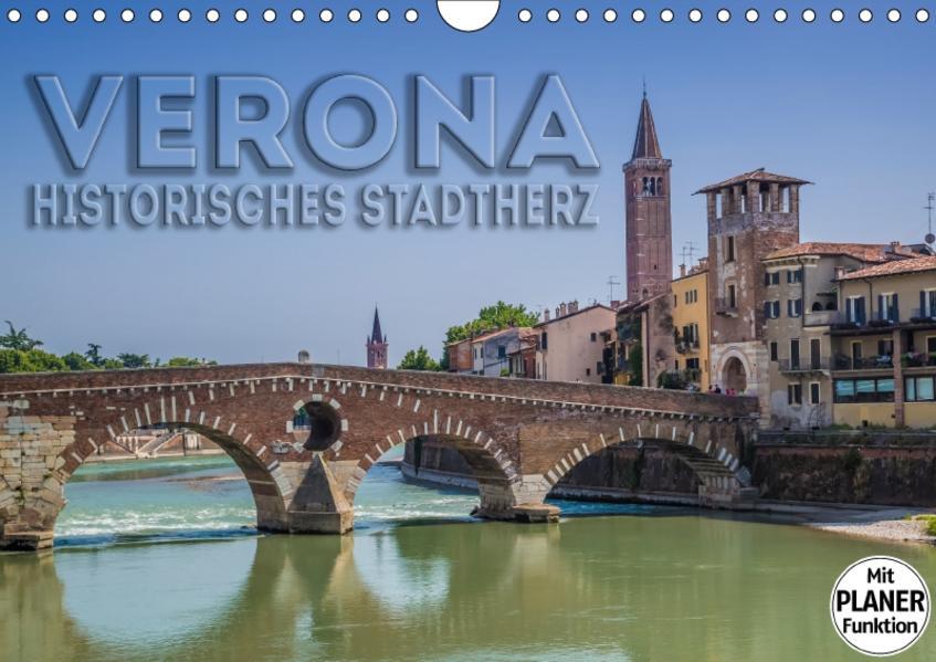 VERONA Historisches Stadtherz (Wandkalender 2017 DIN A4 quer) - Coverbild