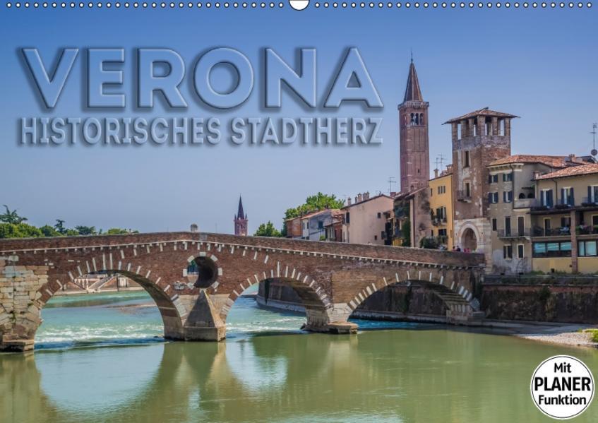 VERONA Historisches Stadtherz (Wandkalender 2017 DIN A2 quer) - Coverbild