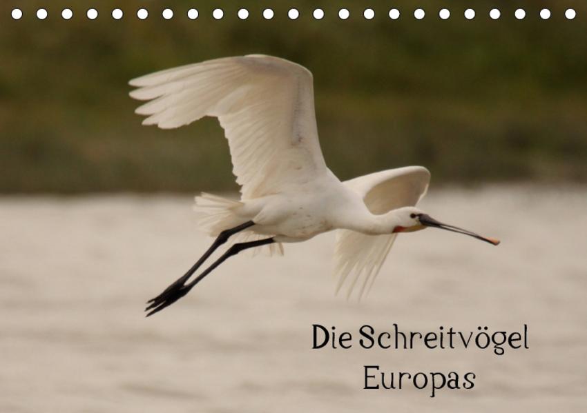 Die Schreitvögel Europas (Tischkalender 2017 DIN A5 quer) - Coverbild