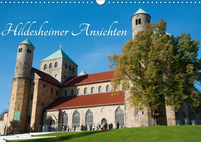 Hildesheimer Ansichten (Wandkalender 2017 DIN A3 quer) - Coverbild