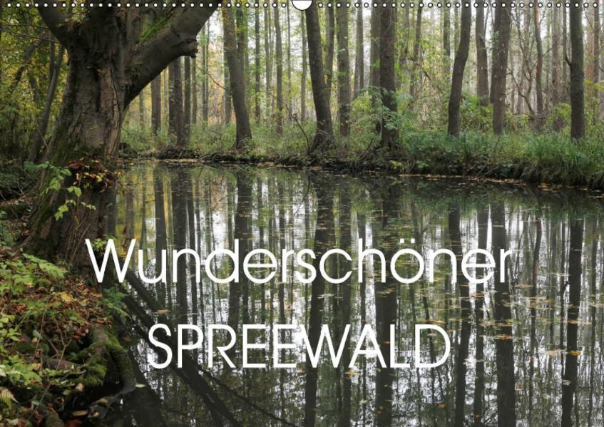 Wunderschöner Spreewald (Wandkalender 2017 DIN A2 quer) - Coverbild
