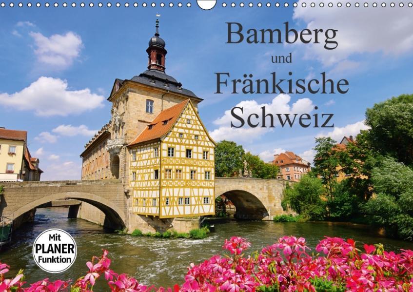Bamberg und Fränkische Schweiz (Wandkalender 2017 DIN A3 quer) - Coverbild
