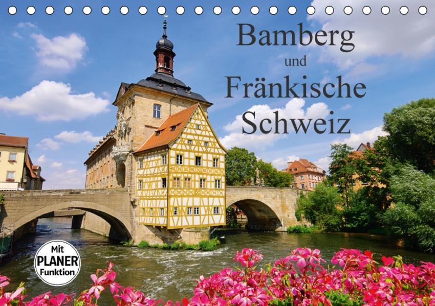 Bamberg und Fränkische Schweiz (Tischkalender 2017 DIN A5 quer) - Coverbild