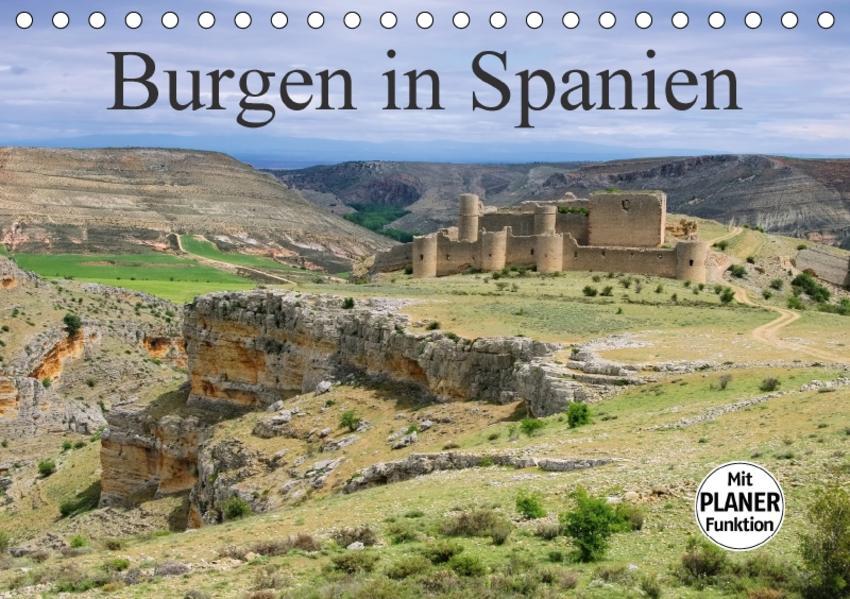 Burgen in Spanien (Tischkalender 2017 DIN A5 quer) - Coverbild
