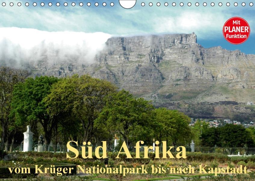 Süd Afrika - vom Krüger Nationalpark bis nach Kapstadt (Wandkalender 2017 DIN A4 quer) - Coverbild