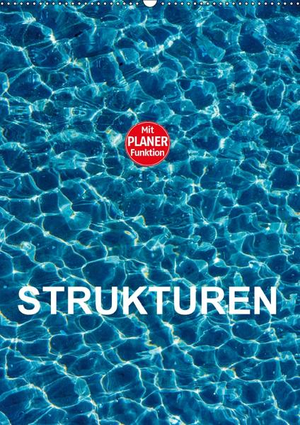 Strukturen (Wandkalender 2017 DIN A2 hoch) - Coverbild