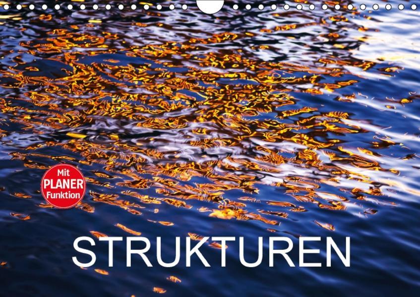 Strukturen (Wandkalender 2017 DIN A4 quer) - Coverbild