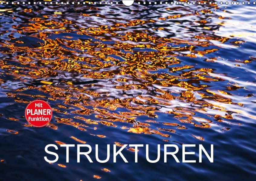Strukturen (Wandkalender 2017 DIN A3 quer) - Coverbild