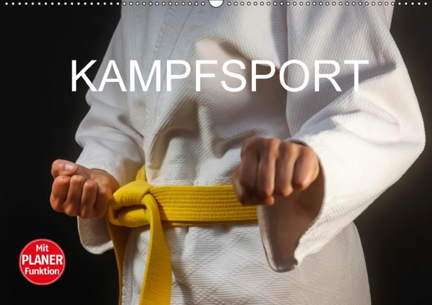 Kampfsport (Wandkalender 2017 DIN A2 quer) - Coverbild