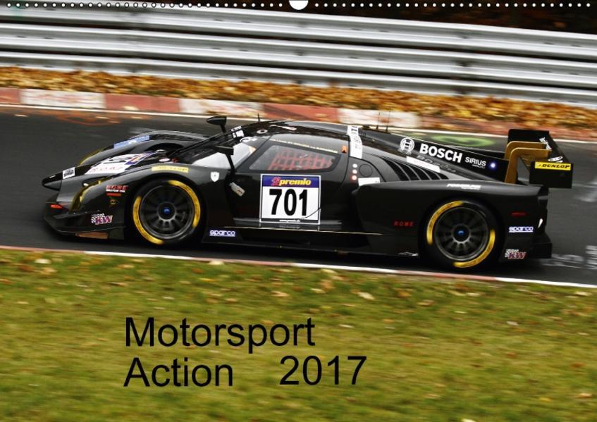 Motorsport Action 2017 (Wandkalender 2017 DIN A2 quer) - Coverbild