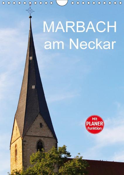 Marbach am Neckar (Wandkalender 2017 DIN A4 hoch) - Coverbild