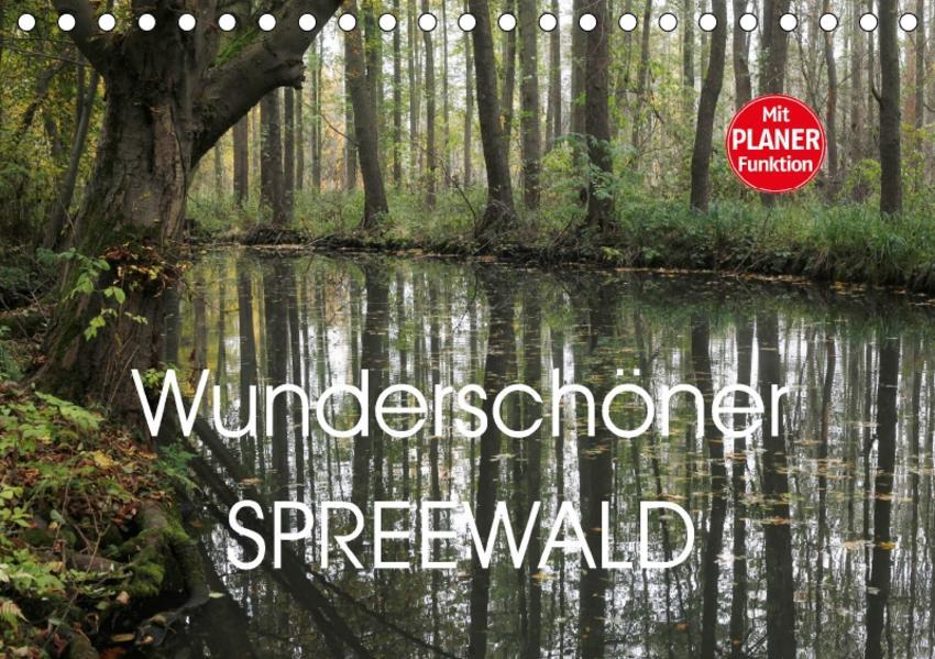 Wunderschöner Spreewald (Tischkalender 2017 DIN A5 quer) - Coverbild