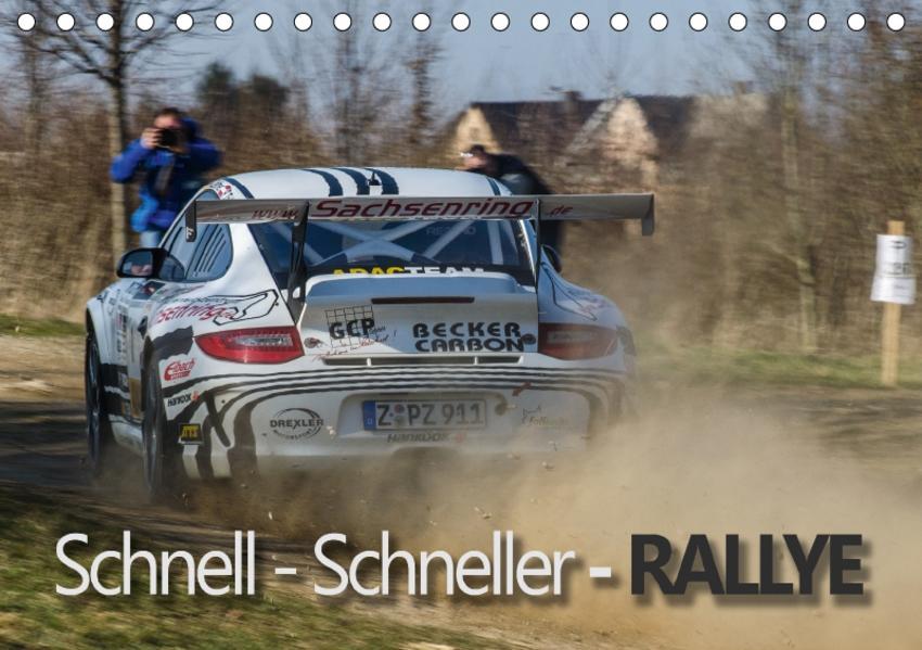 Schnell - Schneller - Rallye (Tischkalender 2017 DIN A5 quer) - Coverbild