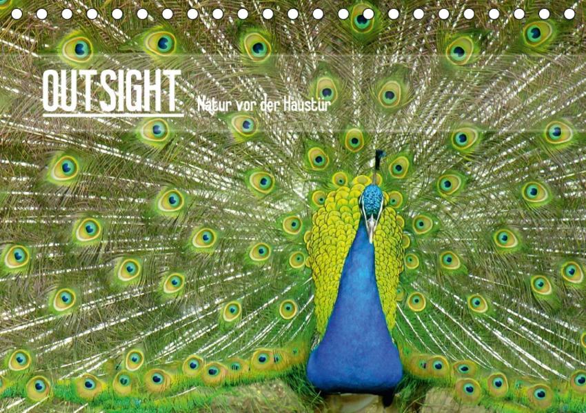 OUTSIGHT - Natur vor der Haustür (Tischkalender 2017 DIN A5 quer) - Coverbild