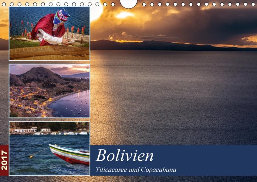 Bolivien - Titicacasee und Copacabana (Wandkalender 2017 DIN A4 quer) - Coverbild
