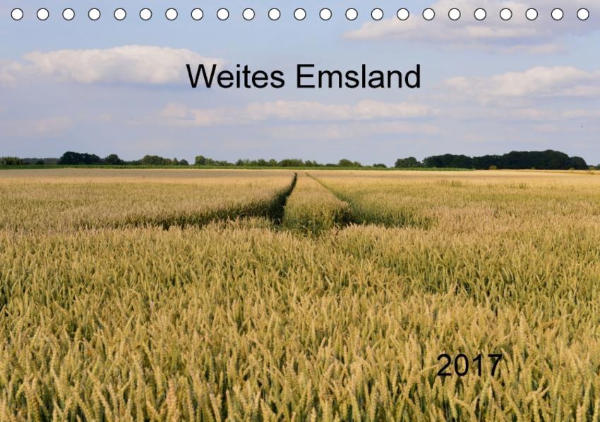 Weites Emsland (Tischkalender 2017 DIN A5 quer) - Coverbild