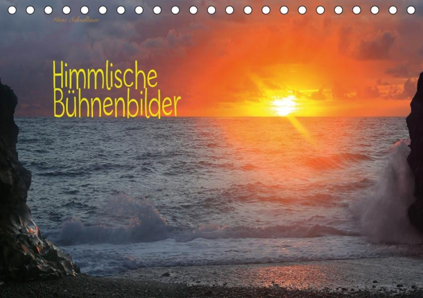 Himmlische Bühnenbilder (Tischkalender 2017 DIN A5 quer) - Coverbild