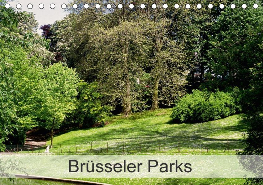 Brüsseler Parks (Tischkalender 2017 DIN A5 quer) - Coverbild