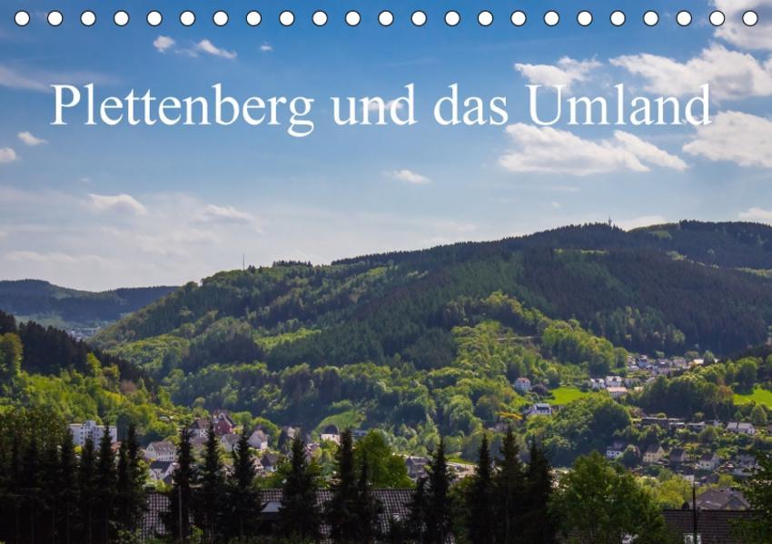 Plettenberg und das Umland (Tischkalender 2017 DIN A5 quer) - Coverbild
