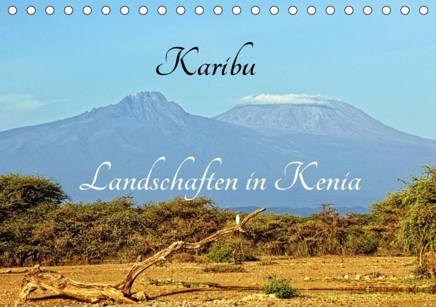 Karibu - Landschaften in Kenia (Tischkalender 2017 DIN A5 quer) - Coverbild