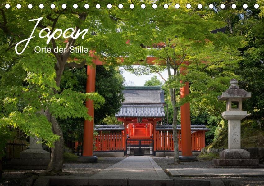 Japan - Orte der Stille (Tischkalender 2017 DIN A5 quer) - Coverbild