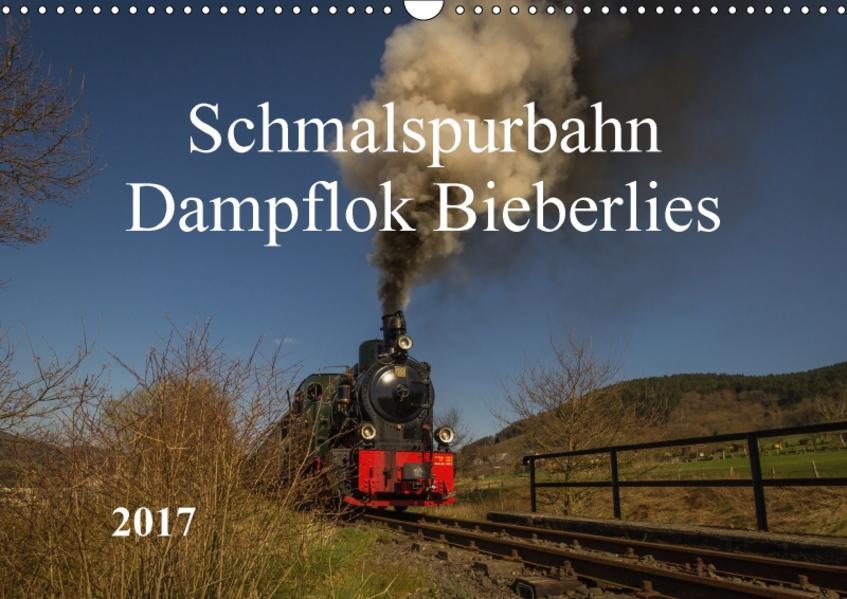 Schmalspurbahn Dampflok Bieberlies (Wandkalender 2017 DIN A3 quer) - Coverbild
