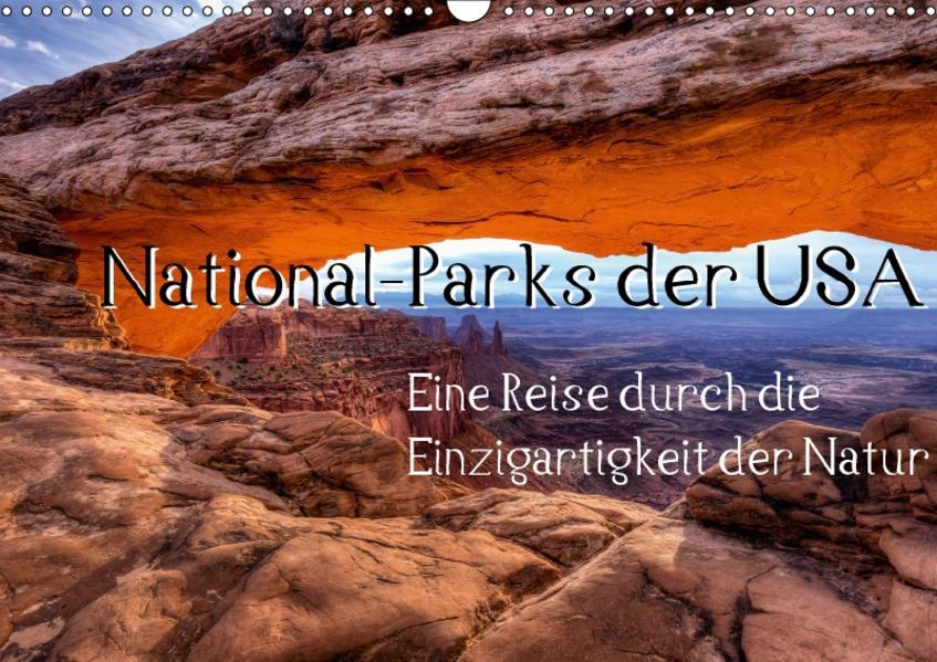 National-Parks der USA (Wandkalender 2017 DIN A3 quer) - Coverbild