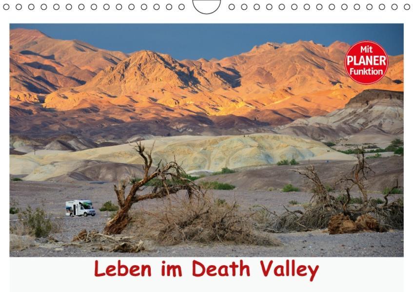 Leben im Death Valley (Wandkalender 2017 DIN A4 quer) - Coverbild