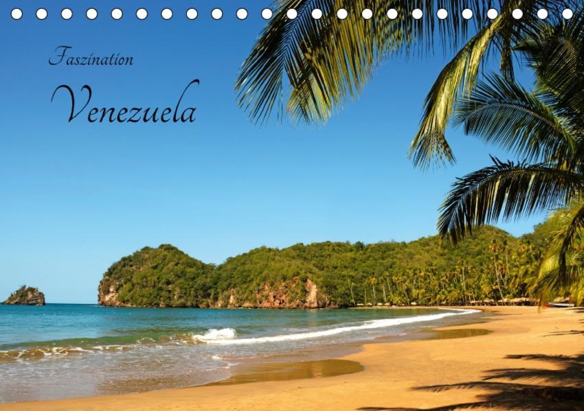 Faszination Venezuela (Tischkalender 2017 DIN A5 quer) - Coverbild