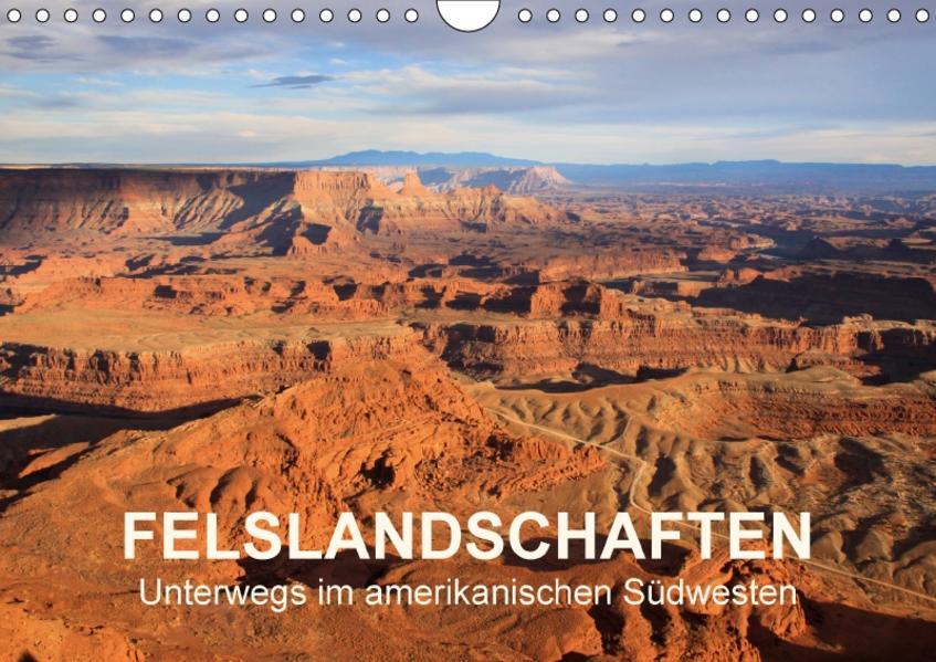 Felslandschaften (Wandkalender 2017 DIN A4 quer) - Coverbild