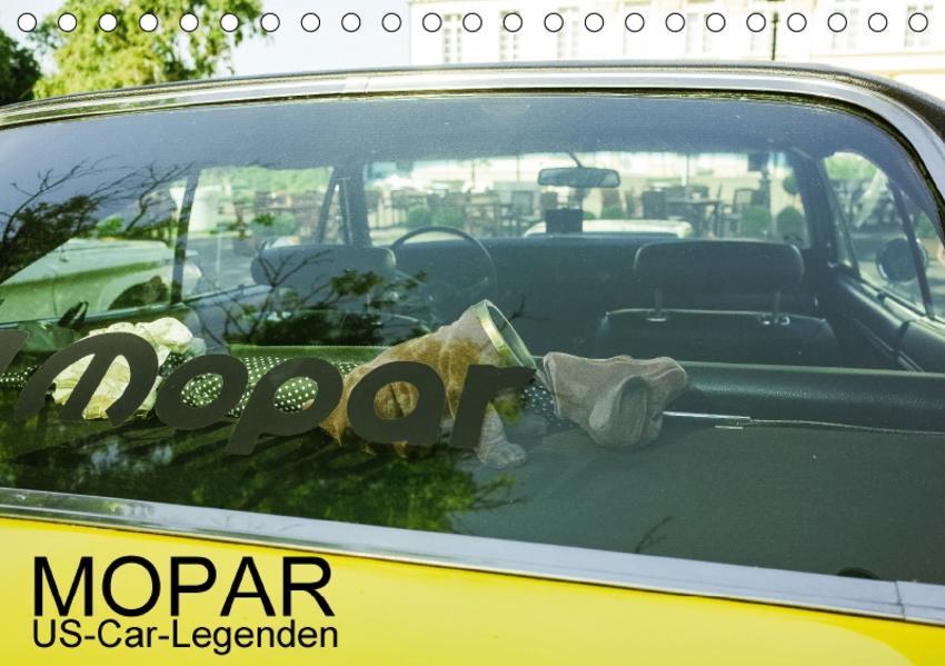 Mopar US-Car-Legenden (Tischkalender 2017 DIN A5 quer) - Coverbild