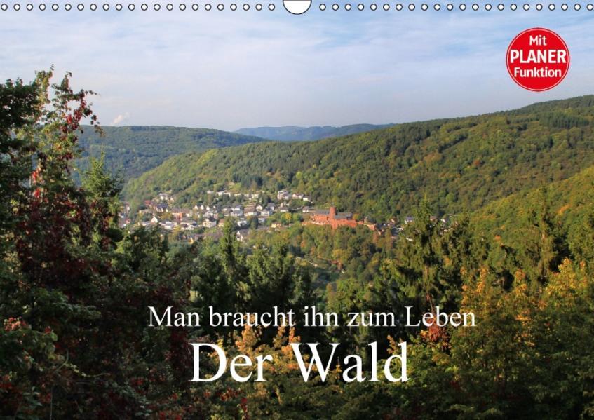 Man braucht ihn zum Leben - Der Wald (Wandkalender 2017 DIN A3 quer) - Coverbild