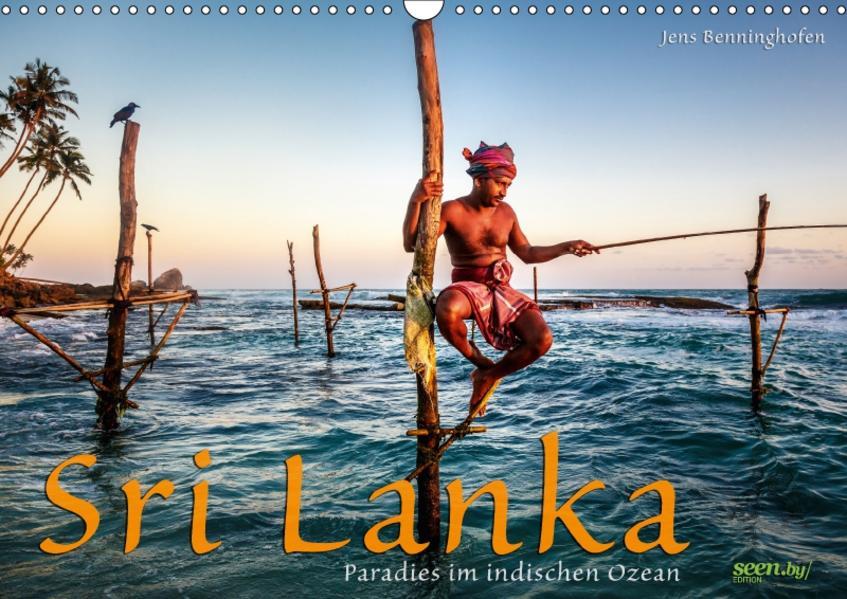 Sri Lanka - Paradies im indischen Ozean (Wandkalender 2017 DIN A3 quer) - Coverbild