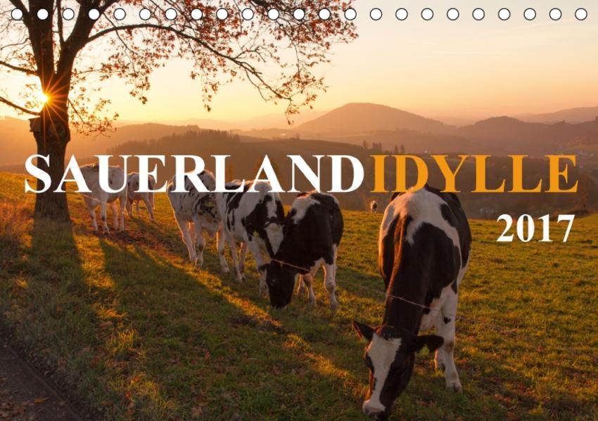 Sauerland-Idylle (Tischkalender 2017 DIN A5 quer) - Coverbild