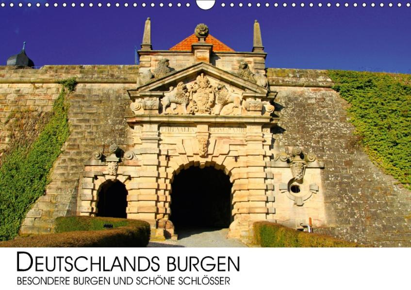 Deutschlands Burgen - besondere Burgen und schöne Schlösser (Wandkalender 2017 DIN A3 quer) - Coverbild
