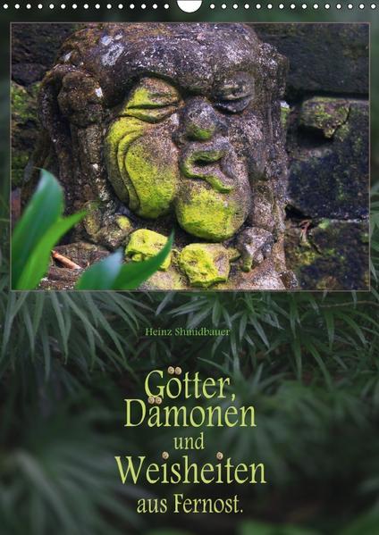 Götter, Dämonen und Weisheiten aus Fernost (Wandkalender 2017 DIN A3 hoch) - Coverbild
