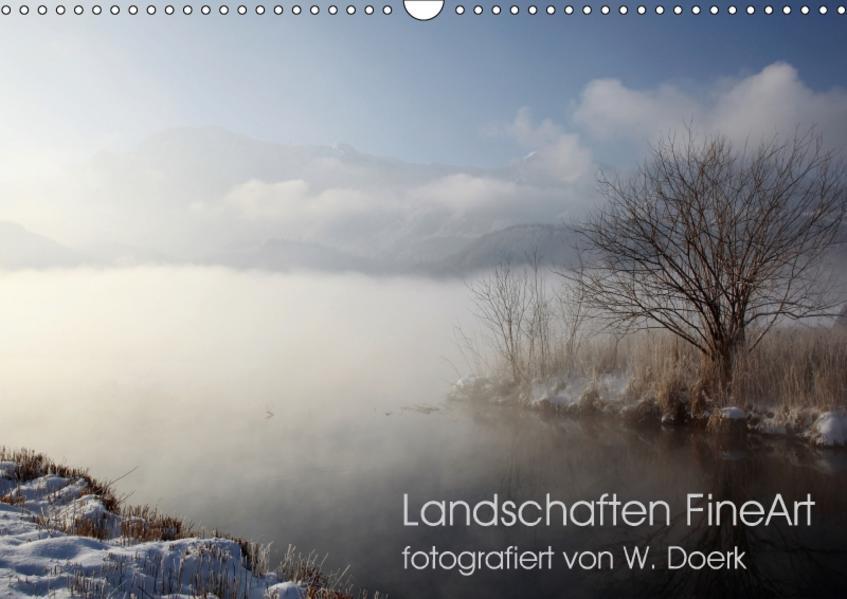 Landschaften FineArt (Wandkalender 2017 DIN A3 quer) - Coverbild