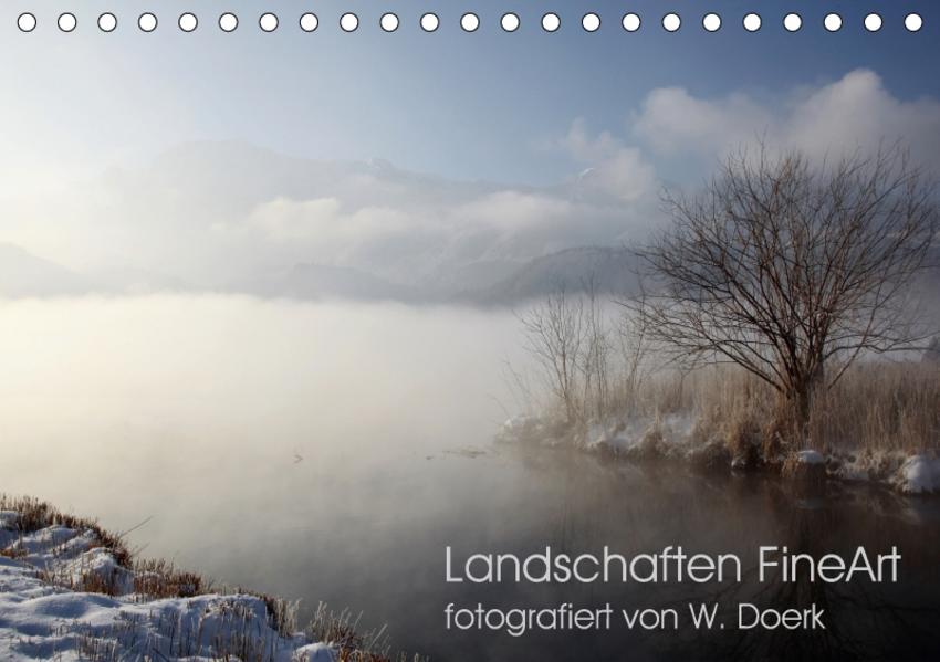 Landschaften FineArt (Tischkalender 2017 DIN A5 quer) - Coverbild