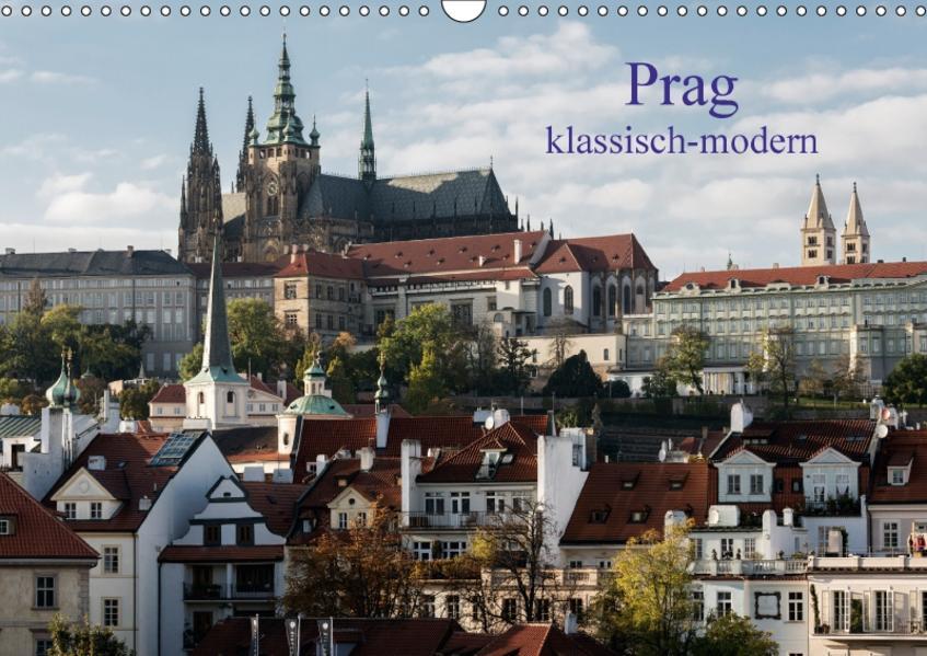 Prag, klassisch-modern (Wandkalender 2017 DIN A3 quer) - Coverbild