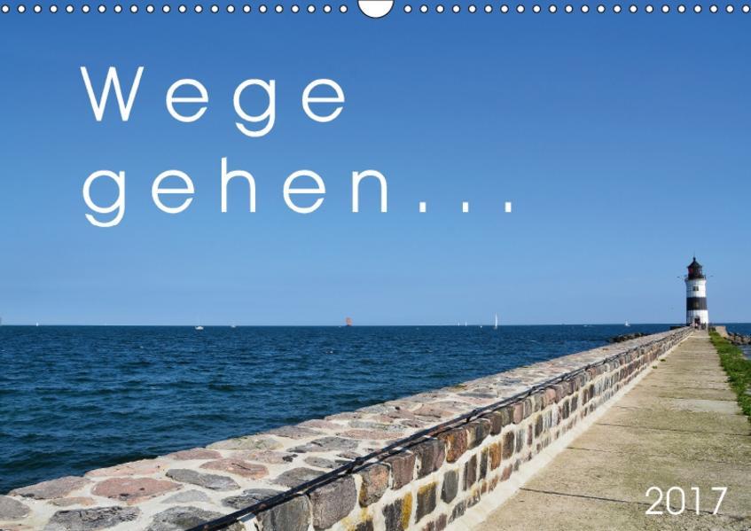 Wege gehen... (Wandkalender 2017 DIN A3 quer) - Coverbild