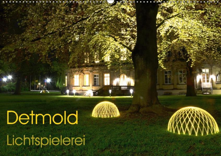 Detmold Lichtspielerei (Wandkalender 2017 DIN A2 quer) - Coverbild