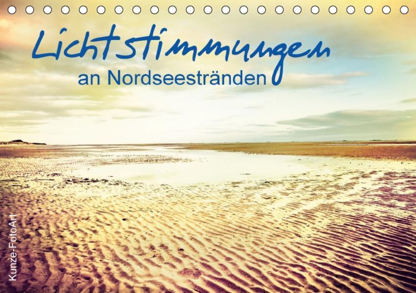 Lichtstimmungen an Nordseestränden (Tischkalender 2017 DIN A5 quer) - Coverbild