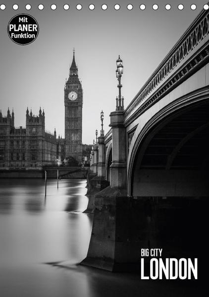 Big City London (Tischkalender 2017 DIN A5 hoch) - Coverbild