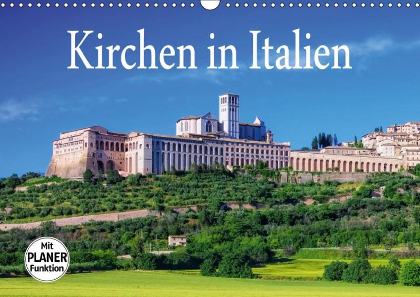 Kirchen in Italien (Wandkalender 2017 DIN A3 quer) - Coverbild