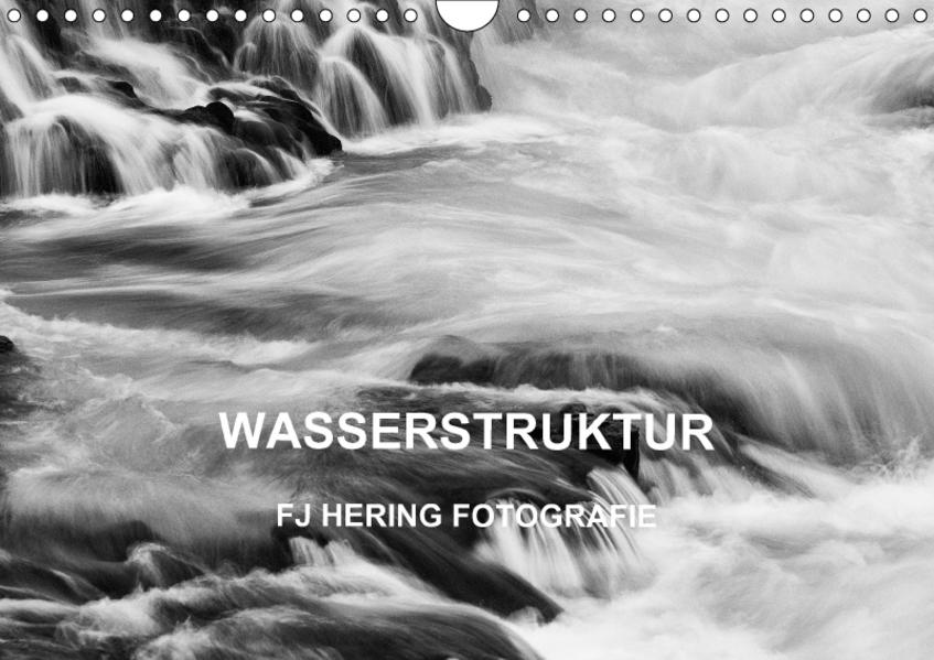 Wasserstruktur (Wandkalender 2017 DIN A4 quer) - Coverbild