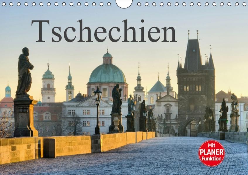 Tschechien (Wandkalender 2017 DIN A4 quer) - Coverbild