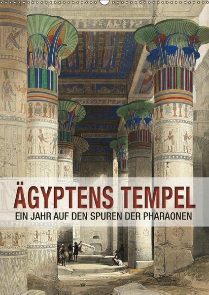 Ägyptens Tempel (Wandkalender 2017 DIN A2 hoch) - Coverbild
