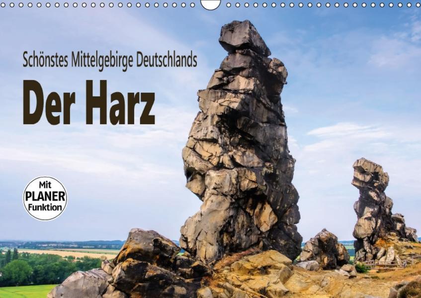 Der Harz - Schönstes Mittelgebirge Deutschlands (Wandkalender 2017 DIN A3 quer) - Coverbild